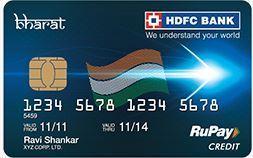 HDFC Bank Bharat Credit Card