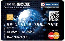 HDFC Bank Times Titanium Credit Card